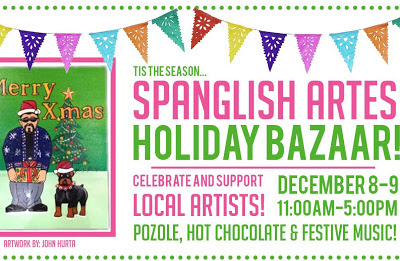 Get Your Holiday Shop On at the Splanglish Artes Holiday Bazaar this weekend