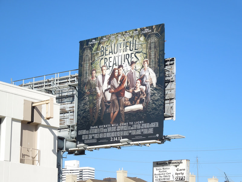 Beautiful Creatures billboard