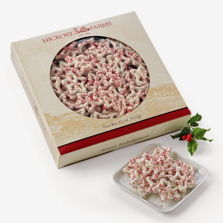 http://www.hickoryfarms.com/sweets/snowflake-pretzels-008390.html