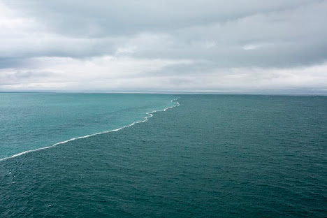 Laut Baltic dan Laut Utara vertikal