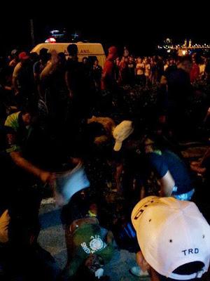 video kemalangan drag race himpunan jutaan belia 2012