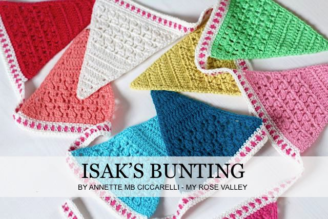 LATEST PATTERN: Isak's Bunting