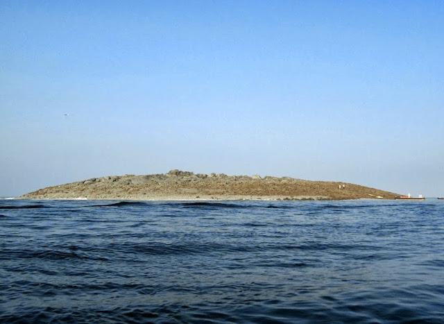 Εικόνες από το νησί που αναδύθηκε μετά τον σεισμό στο Πακιστάν!