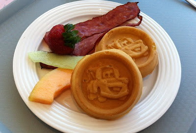 Mater Waffles at Flo's V8 Cafe