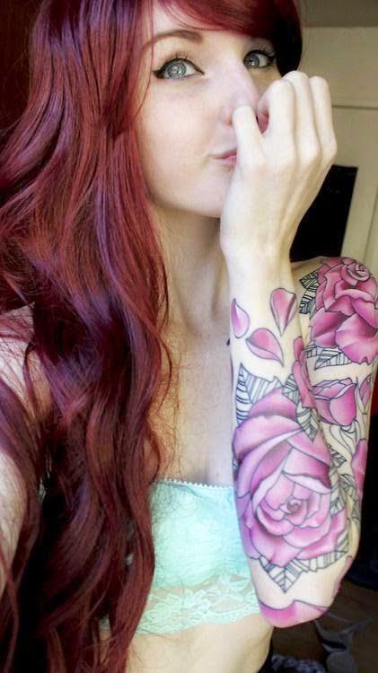 Snapdragon Flower Tattoo