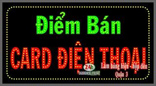 biển hiệu quảng cáo quận 3