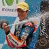 Álex Márquez alcanza el liderato de Moto3 en Aragón