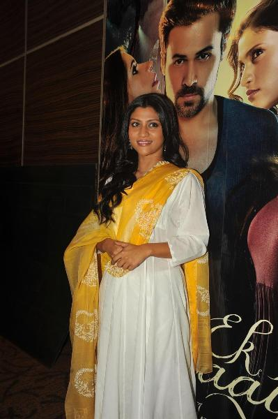 Huma, Ekta Kapoor, Konkona at the launch of Ved Prakash Sharma's book 'Daayan'