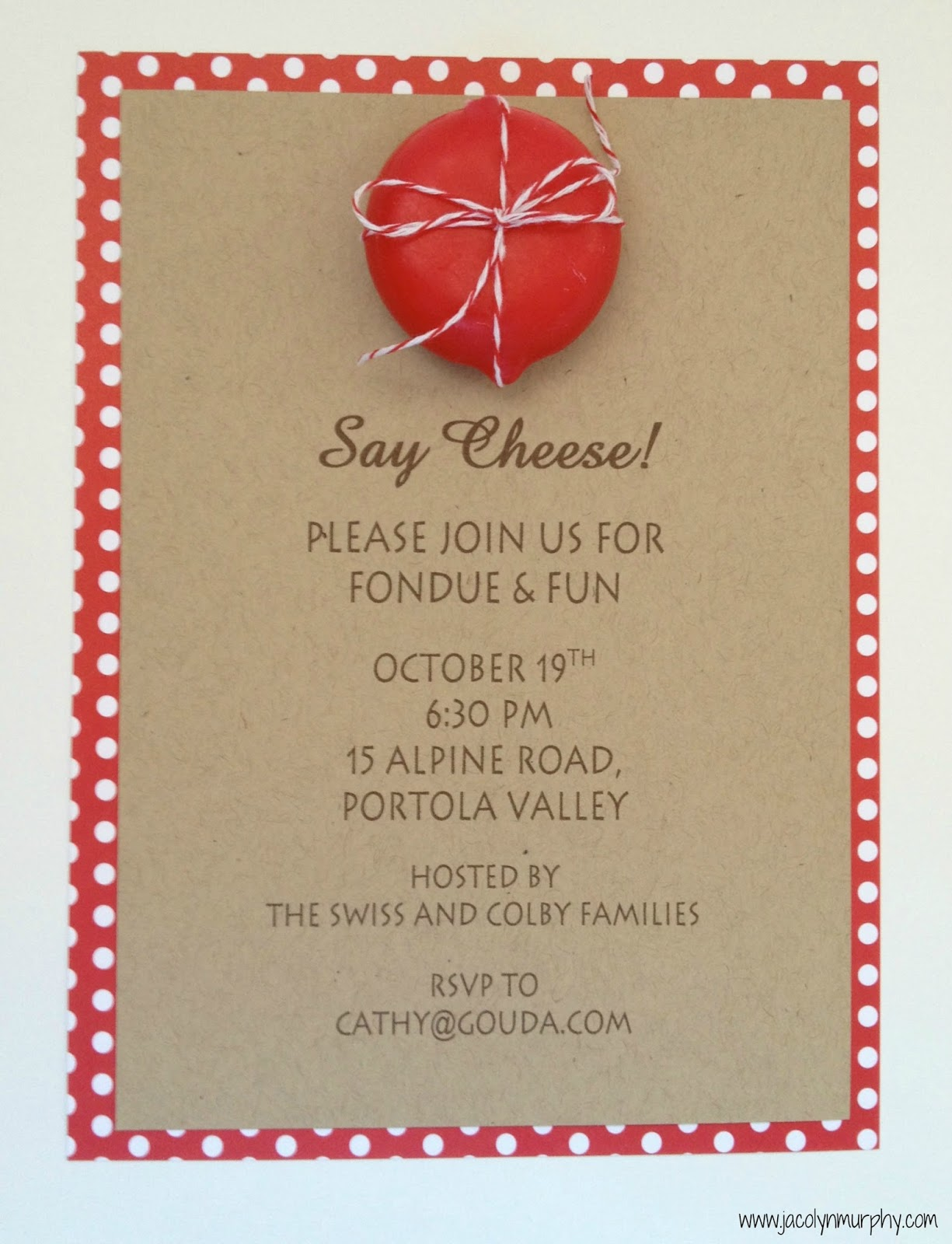 Fondue Party Invitation Wording online birthday party invitations free – Fondue Party Invitations