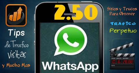 Gana Dinero por el Whatsapp