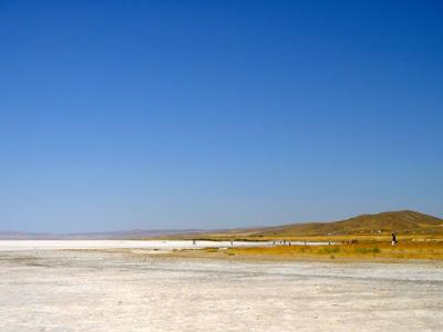 Salt Lake in Turkey near Konya