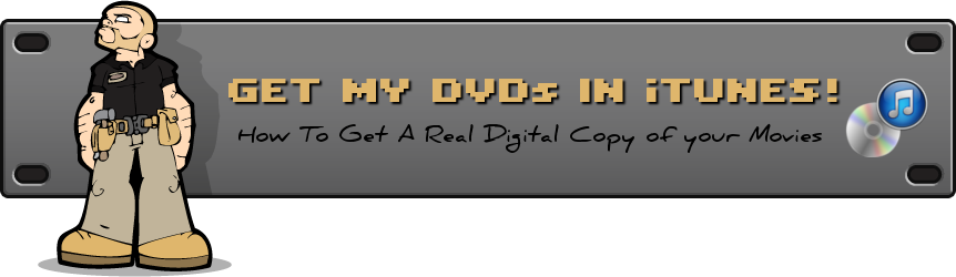 how to put my dvd in itunes