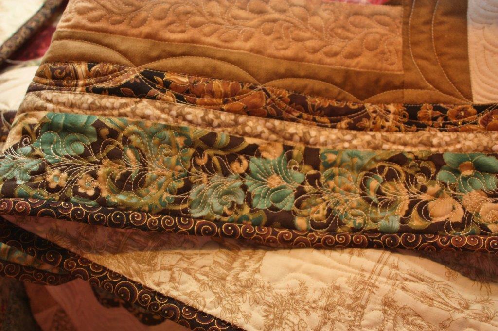 Sarah Lynn S Quilting Graceful Garden Quilt Done