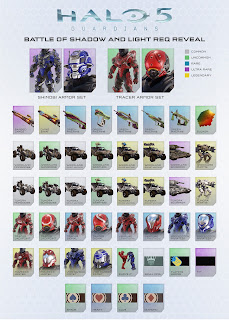 Halo 5: Guardians free map big team battles shadows and light REQ items