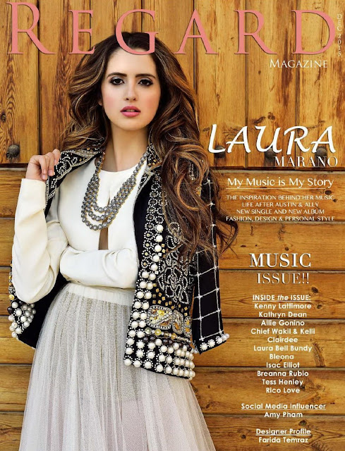 Actress, Singer, @ Laura Marano - Regard Magazine, December 2015