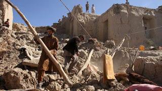 Afghanistan Diguncang Gempa 6,2 SR