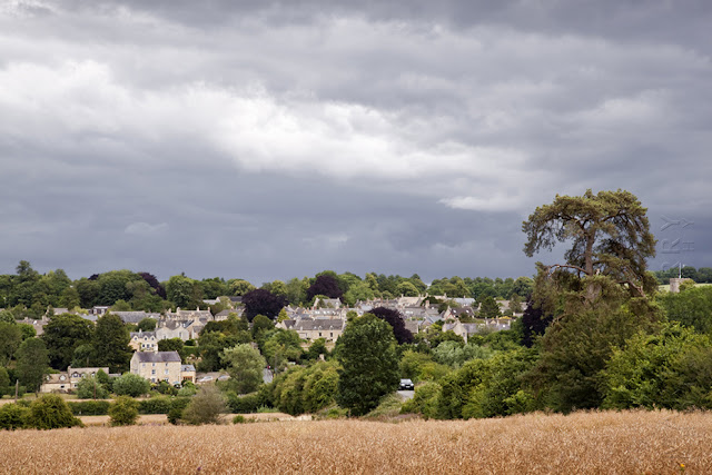 Charlbury in the Cotswolds landscape by Martyn Ferry Photography