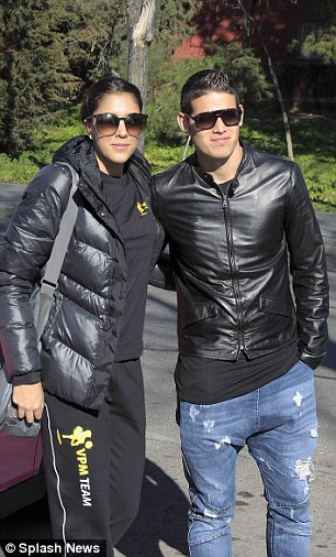 Football Players Style James Rodriguez