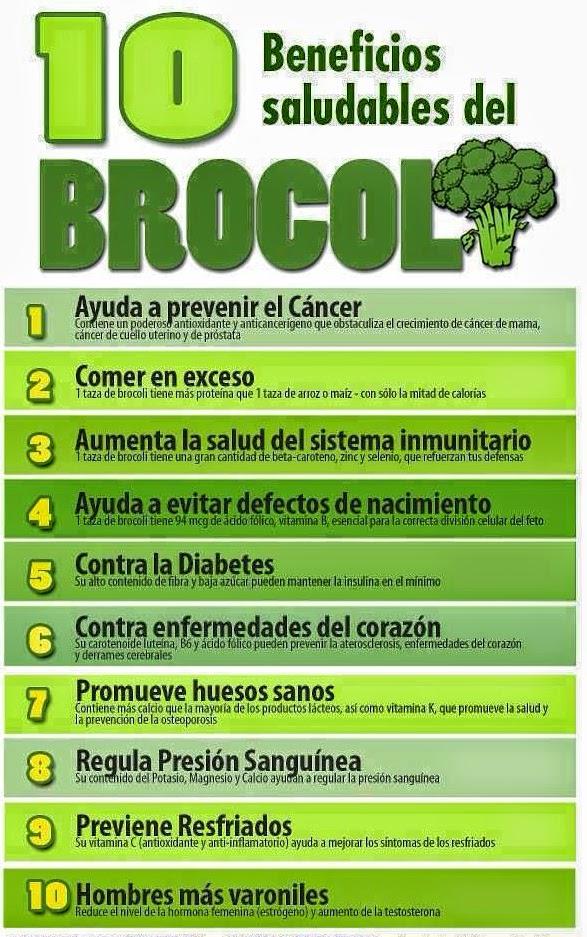 10 beneficios saludables del brócoli
