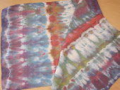 Ice Dyed Shibori Scarves