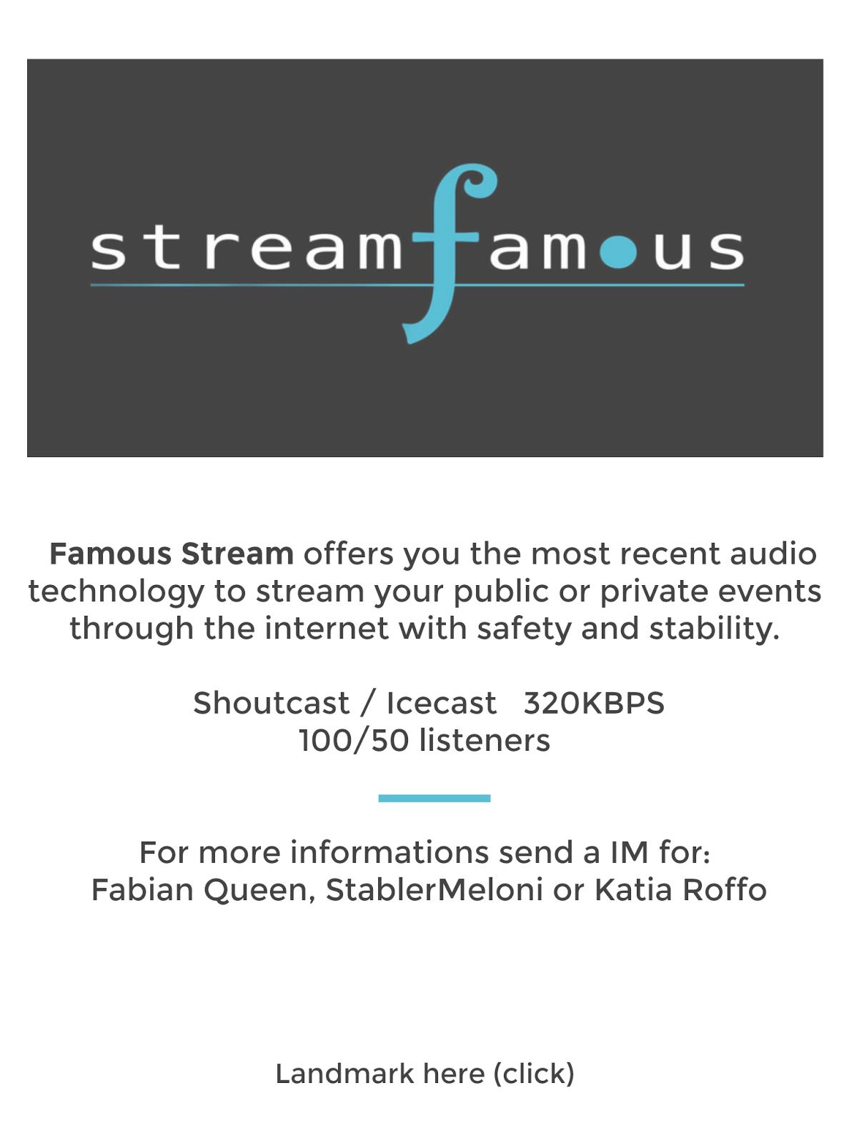 Stream Famous