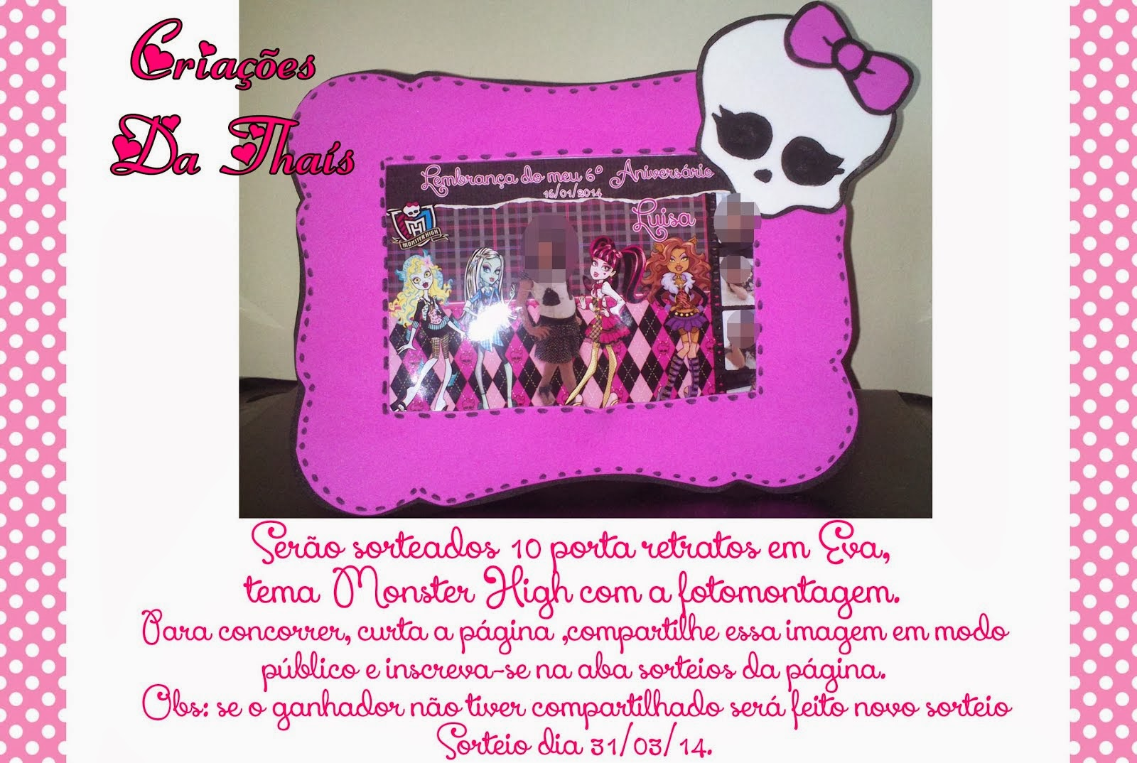 10 Calendarios Em Eva Monster High