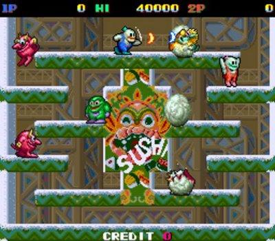 Juegos Clasicos snow-bros, metal-slug, metal-slug2 para android