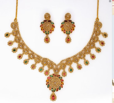 bombay necklace design