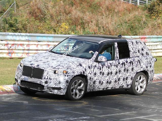 BMW X3 side image