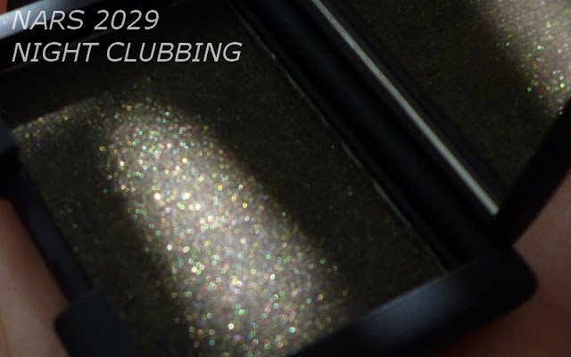 NARS Single Eyeshadow 2029 Night Clubbing Swatches