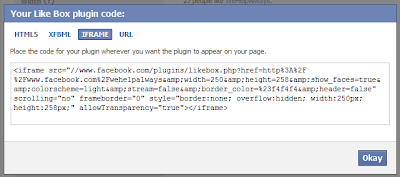 Getting code from facebook
