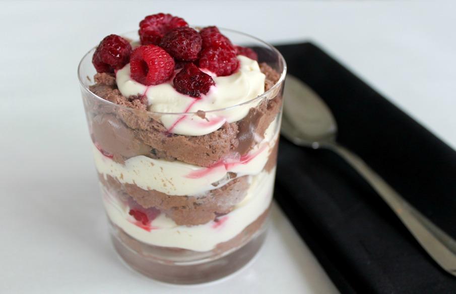 Twilight Inspired Dessert Chocolate Mousse Raspberry