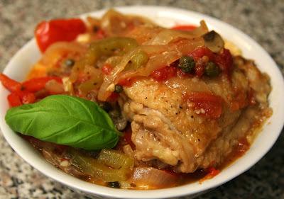 ... : Giada de Laurentiis: Pollo alla Cacciatora (Hunter-Style Chicken