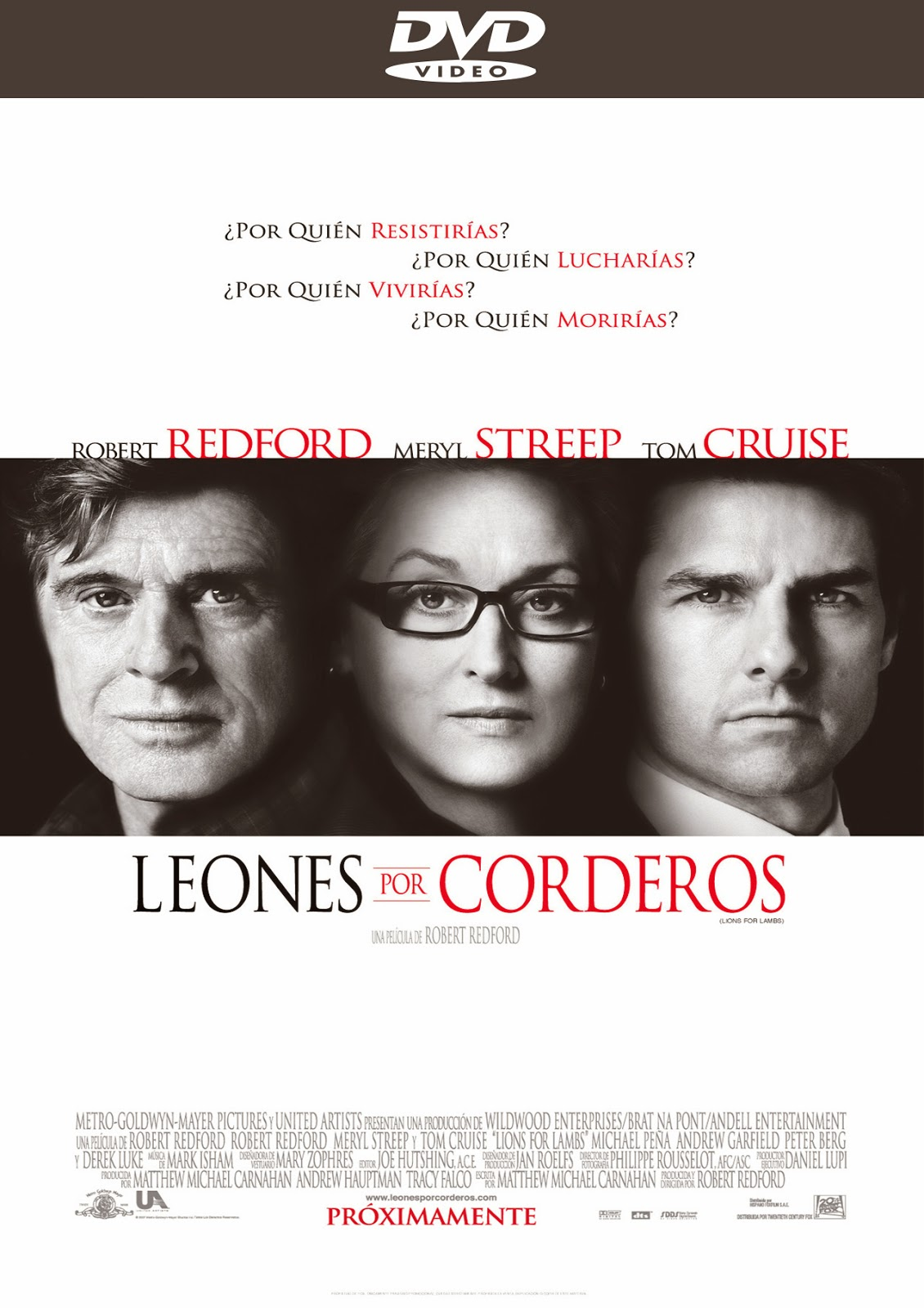 Leones por Corderos [2007] [Latino] [DVD full]