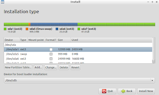 Harddisks partition view