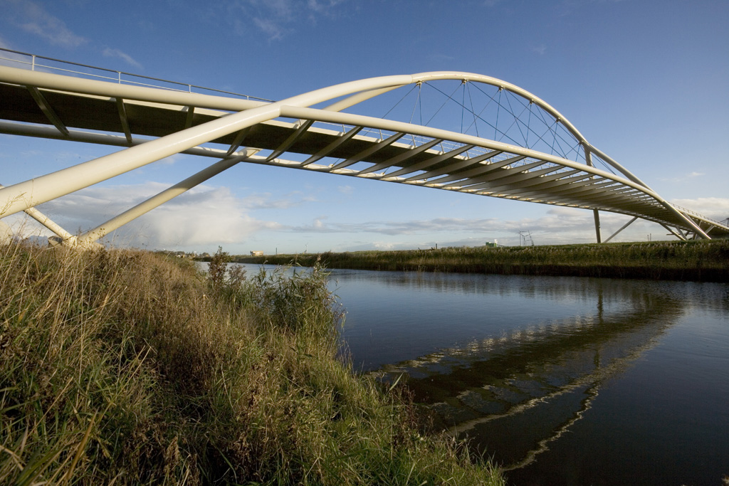 Rhinoceros report bridge design with grasshopper for rhino for Bridge design