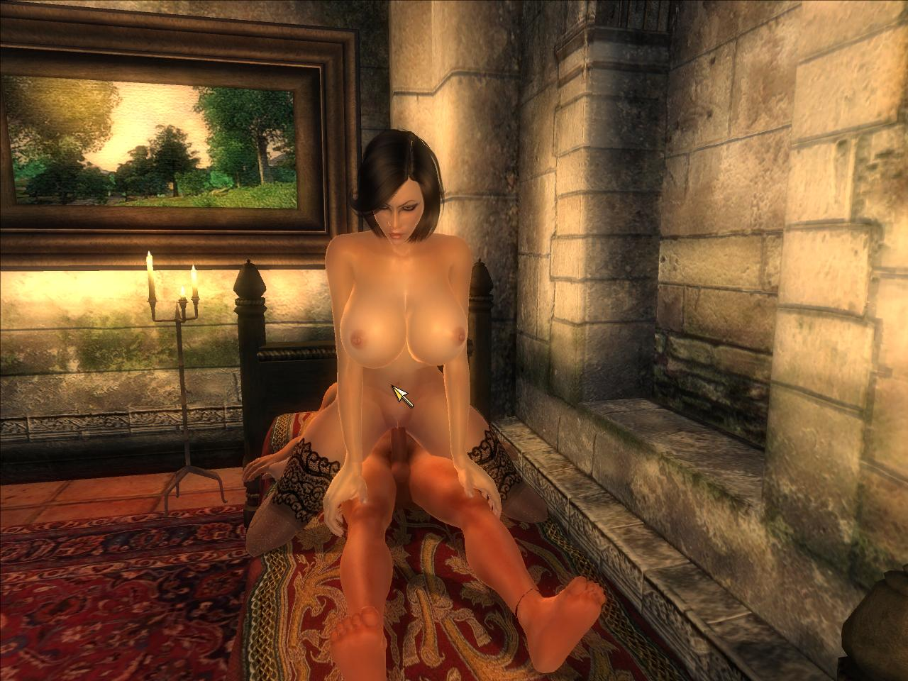 Oblivion nude skin hentia video