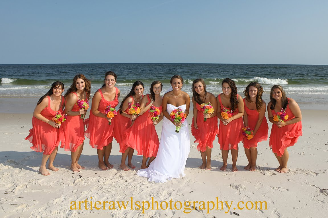 During The Summer We Covered A Beach Wedding In Orange Alabama Which Is About 25