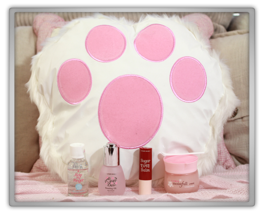 Jolse cosmetics korean haul review etude house december 2014 Cat Stove moistfull cream Nail Softener Ever Dew Boosting Sugar Tint Balm