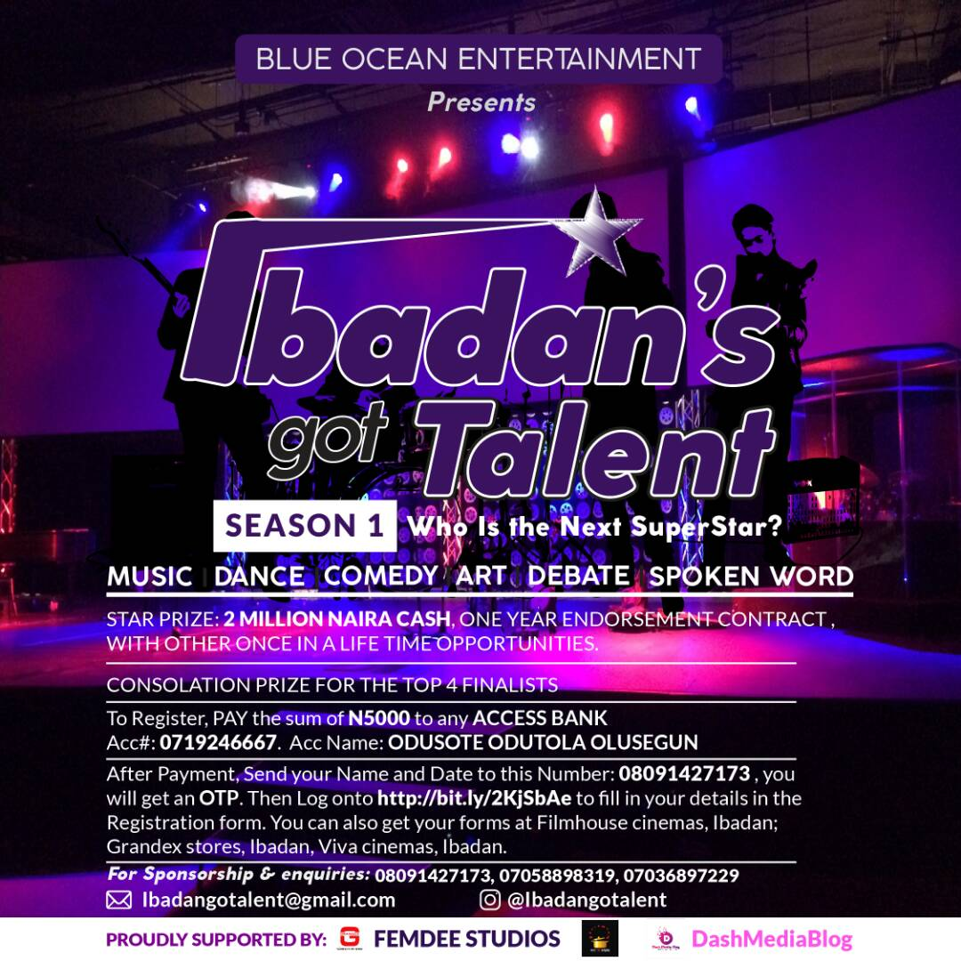 Ibadan's got talent