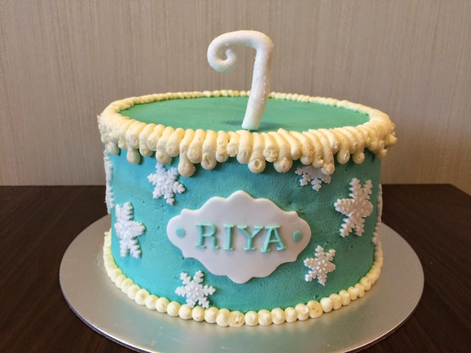 Frozen Birthday Cake Crissas Cake Corner