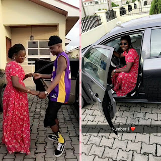 Lil Kesh gifts his mum a car