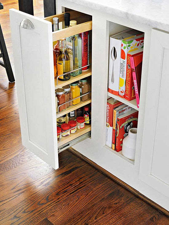 Add A Drawer To Your Island For Storing Cooking Oils Spices And More