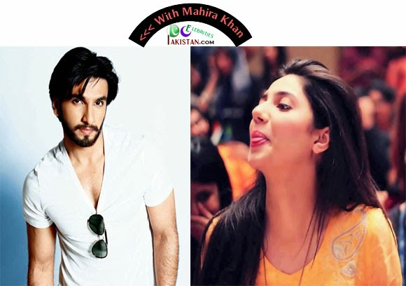 Mahira Khan in Bollywood Movie