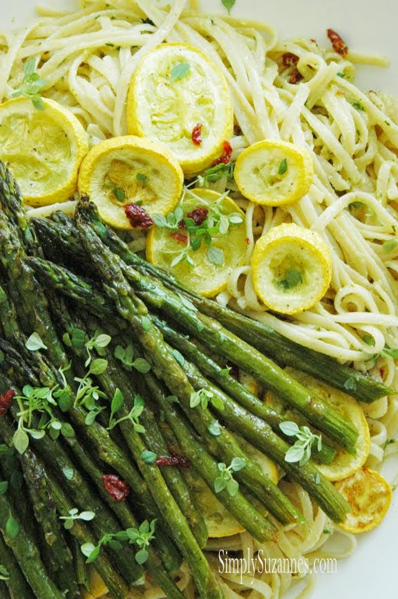 roasted Summer vegetables & pasta