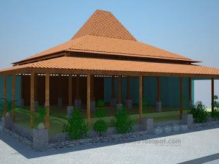 rumah adat jawa timur jatim rumah joglo jawa timur jatim rumah tradisional jawa timur 300x225 Gambar Rumah Adat Indonesia