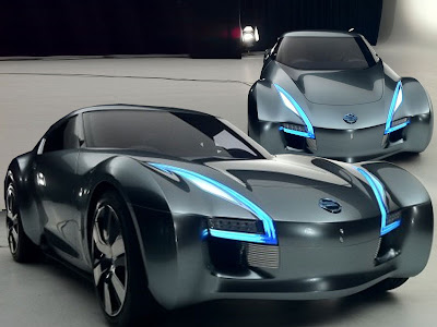 2011 Nissan Electric Sports Concept Car Interior Wallpaper | HD ...