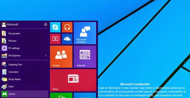 Windows 9 tiếp tục rò rỉ