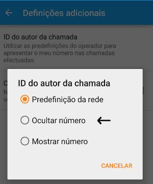 Como ligar de número privado no Android
