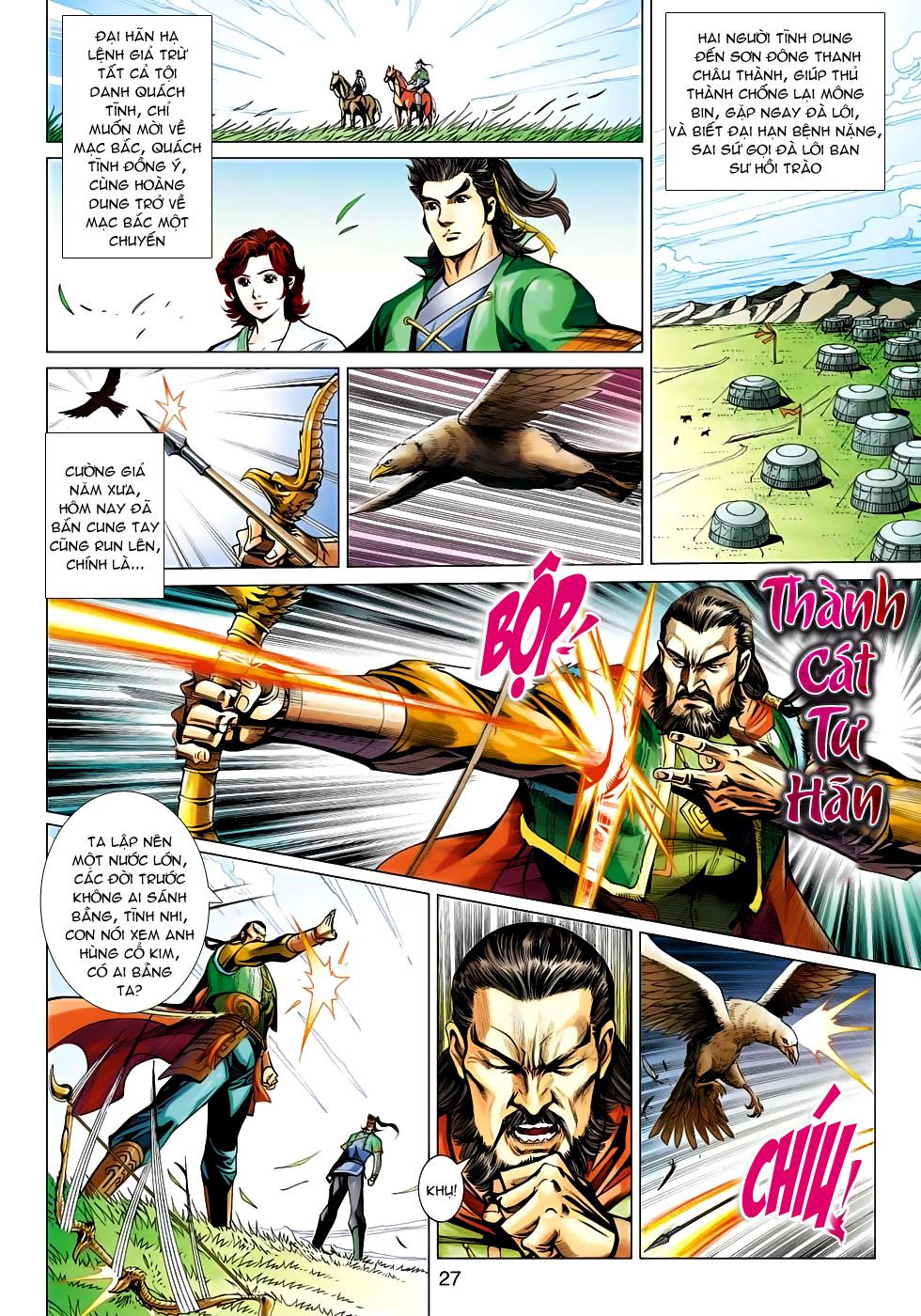 Xạ Điêu Anh Hùng Truyện chap 100 – End Trang 27 - Mangak.info